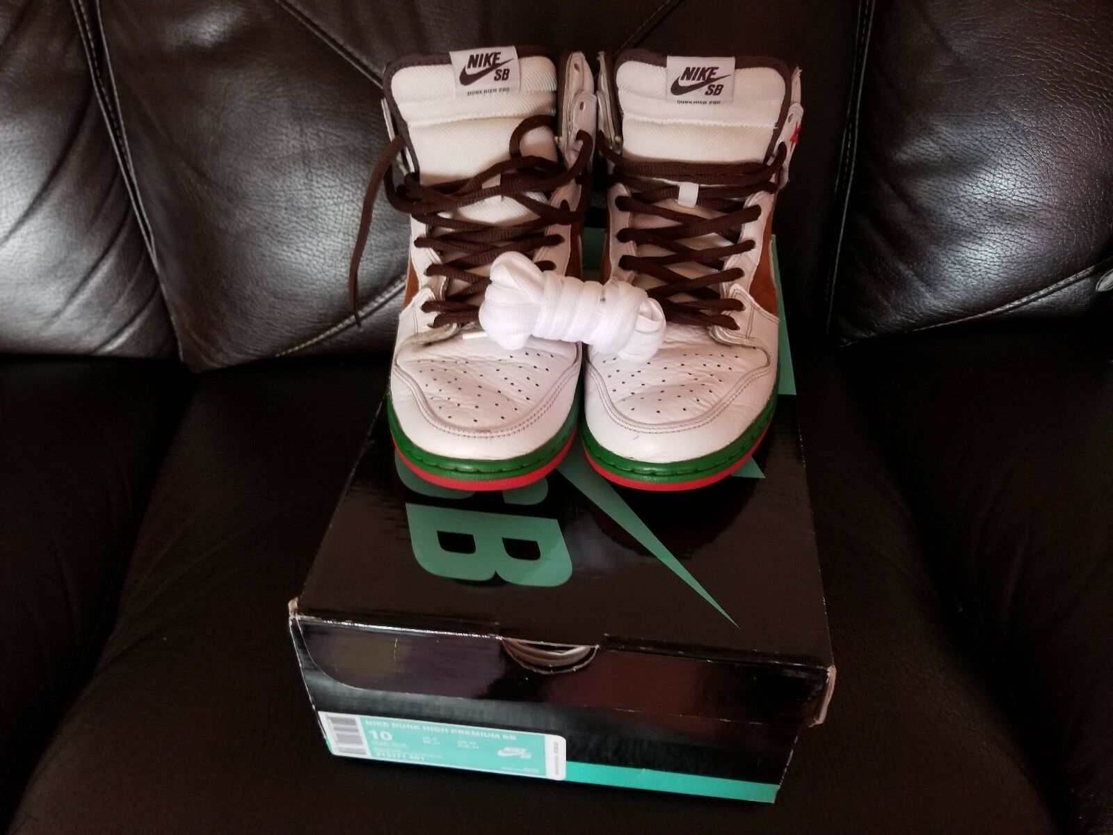 Nike Sb Dunk High Cali size 10 Used Good Condition