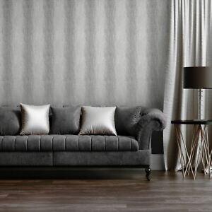 Soie-Ombre-Papier-Peint-Metallise-Haut-Finition-Brillante-Argent-Muriva-702020