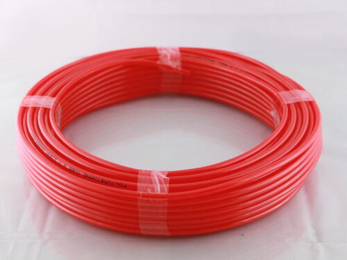 Air pipe Polyurethane Tubing-Pipe in Red Various Sizes and Lengths