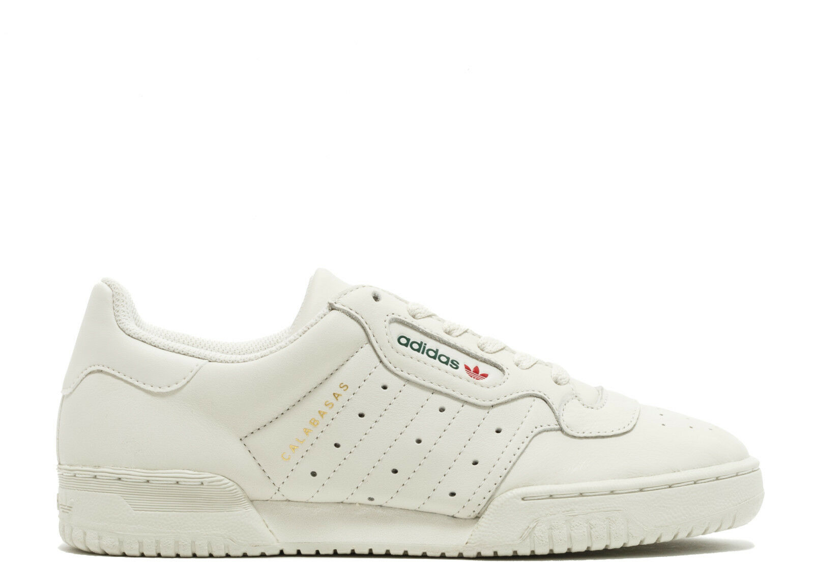 Adidas Yeezy powerphase Calabasas cq1693 Core blanco tamaño / crema og DS tamaño blanco 14 Kanye 393840