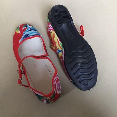 Chinaschuhe Stoffschuhe Ballerinas Trachtenschuhe Damenschuhe bunt Baumwolle B-2
