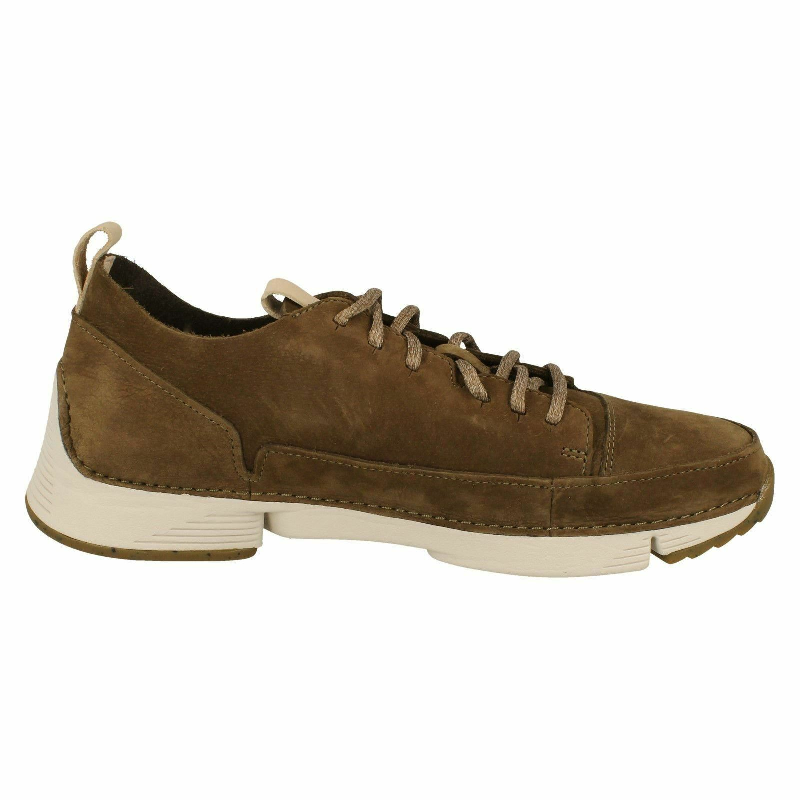 Tri Spark Homme Clarks Kaki Lacets Casual Casual Lacets Coussin Sports Baskets Chaussures Taille eb27dc