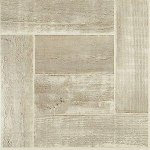 vinyl floor tiles self adhesive peel and stick kitchen beige plank wood flooring ebay. Black Bedroom Furniture Sets. Home Design Ideas
