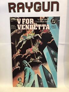 V-For-Vendetta-Vol-VIII-of-X-8-VF-NM-1st-Print-DC-Comics-Alan-Moore