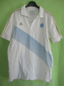 Maillot Jersey Adidas Olympique Sur Marseille Vintage Détails L Polo Om Coton qzVSpUMLG