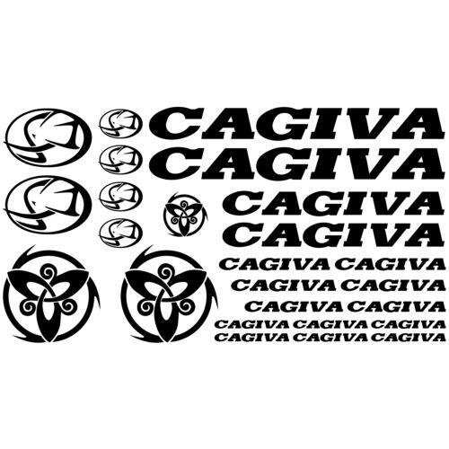 MAXI KIT CAGIVA Stickers Autocollants Adhésifs Moto Haute Qualité
