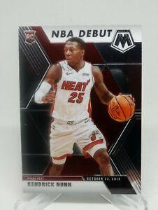 2019-20-Panini-Mosaic-Kendrick-Nunn-NBA-Debut-Rookie-Card-Base-268-Miami-Heat