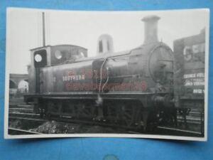 PHOTO  SR CLASS T LOCO NO 1602 AT STEWARTS LANE 945 - Tadley, United Kingdom - PHOTO  SR CLASS T LOCO NO 1602 AT STEWARTS LANE 945 - Tadley, United Kingdom