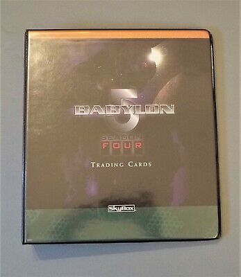 Babylon 5 Season 4 Four Fleer//Skybox 1998 - 81 Card Basic//Base Set