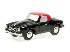 Schuco Piccolo Mercedes 190 SL schwarz-rot # 50125004