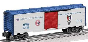 Lionel-Trains-Boy-Scouts-of-America-Eagle-Scout-Boxcar-6-15075-O-Gauge-new-box