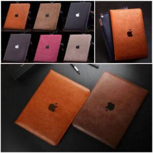 Coque Housse PU Cuir Etui Flip Smart Cover Pour Apple iPad Air Mini 5 4 3 2 1