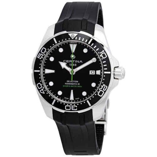 Certina DS Action Diver Automatic Black Dial Men's Watch C032.407.17.051.00