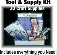 Paper Tole 3d Decoupage Tool & Supply Beginners Kit