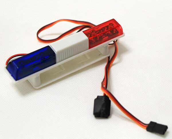 RC Model Hobby Toys Warning LED Light Rotating Emergency Lamp 4.8-6V
