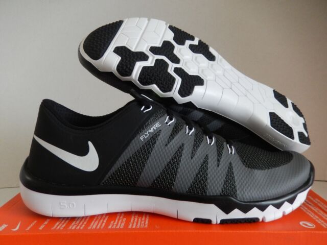 official photos 28fd3 ca33d Mens Nike Trainer 5.0 V6 Running Shoes Size 15 Black Grey White ...