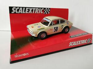 "Slot SCX Scalextric 6512 Seat 850 Seat Sport ""Ricardo Muñoz - Luís Valero"" Nº50"
