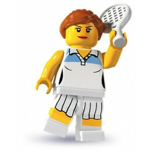 10-LEGO-Minifig-series-3-Tennis-Player-8803-city-new