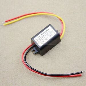 Waterproof DC/DC Converter 12V Step down to 3.7V 3A 15W Power Supply Module