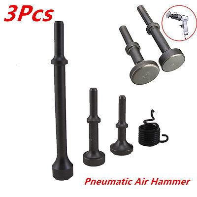 3Pcs Smoothing Pneumatic Air Hammer Pneumatic Bit Automotive Tire Repair Tools