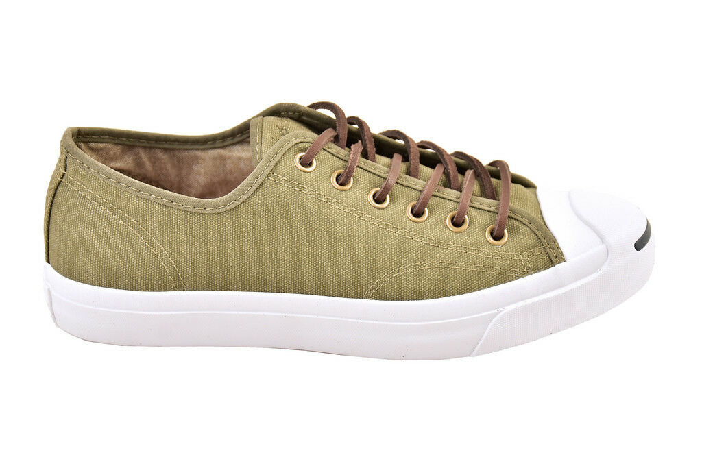 Converse Jack Purcell Canvas OX Surplus Green Trainers Size UK 5.5  BCF811