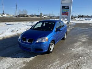 2009 Pontiac wave with only 116000 km for only $3990