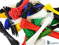 Kabelbinder, Kabelschelle, Kabelstrapse, UL, CE, RoHS-konform 100 Stück