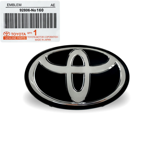2017 To 2020 Toyota Corolla Rav4 Avalon Highlander Radar Grill Emblem Oem For Sale Online Ebay