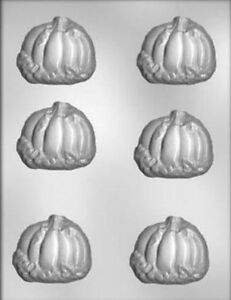 Pumpkin and Leaves Chocolate Candy Mold from CK #3617