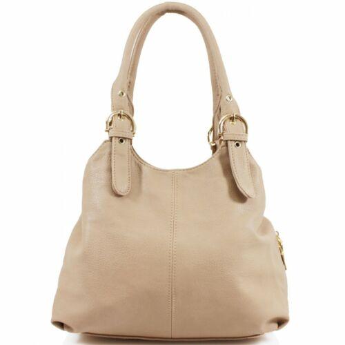 Fashion Womens Designer Office Faux Leather Tote Bag Ladies Shoulder Handbag Wor