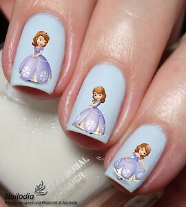 Sofia princess Disney Nail Art Sticker Water Transfer Decal Tattoo ...