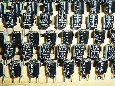 200x Rubycon 6.3V47uF 6.3V YXA Electrolytic Capacitors 5X11 105℃