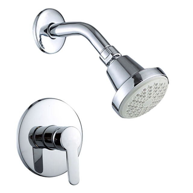 Shower Head And Valve.1 2 Dn15 Spray Tub Shower Faucet Kit With Hot Cold Control Handle Valve Modern
