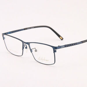 c728251e04 Titanium Spectacle Frame Men s Eyeglass Frames Full Rimless Glasses ...