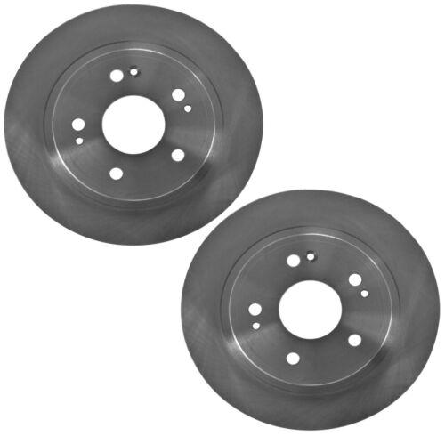Brembo Pair Set of 2 Rear UV Coated Disc Brake Rotors For ILX Accord Civic HR-V