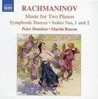 Rachmaninov: Music for Two Pianos (CD, Oct-2006, Naxos (Distributor))