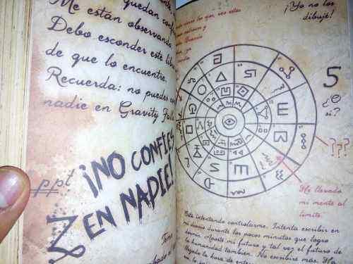 Gravity Falls Diario 3 Mexican Book Spanish Disney Planeta Junior