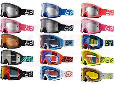 Fox Racing Main Goggles Motocross MX ATV UTV Offroad Dirtbike Antifog Adult 2017
