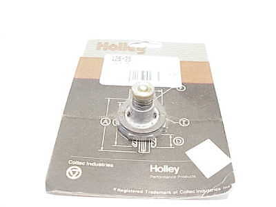 """Genuine Holley-QFT-AED 125-25 2.5/"""" Hg Single Stage Power Valve"""