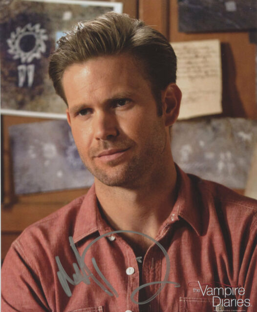 THE VAMPIRE DIARIES:MATTHEW DAVIS AUTOGRAPH PHOTO #2 FROM CREATION ENT