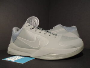 d775588d269f 2016 Nike Zoom KOBE V 5 FTB FADE TO BLACK MAMBA TUMBLED GREY 869454 ...