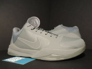 5242a832251534 2016 Nike Zoom KOBE V 5 FTB FADE TO BLACK MAMBA TUMBLED GREY 869454 ...