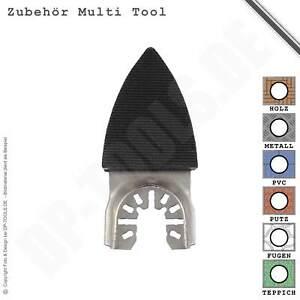 51X Finger Schleifplatte Papier Polster Sand Scheibe Kits Für Pendel Multitool