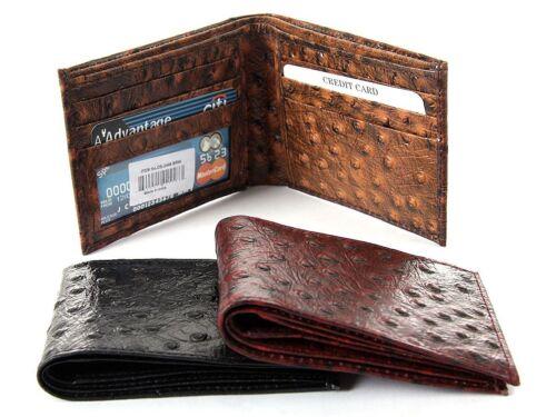 Double Bill 5 Credit Card 1 ID Window BiFold Men/'s Wallet