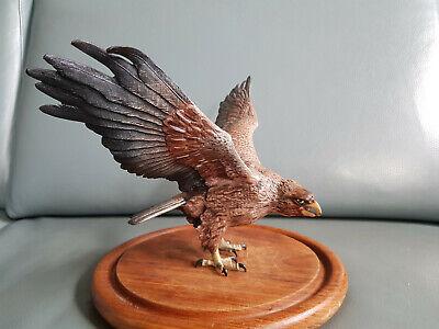 Modestil Grosse Wiener Bronze Figur Adler Large Vienna Bronze Eagle 38 Cm Feine Bemalung Professionelles Design