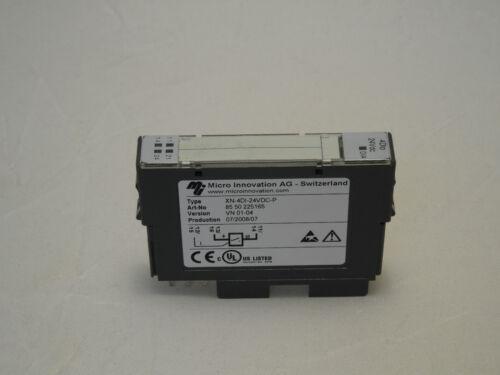 Moeller micro innovación xn-4di-24vdc-p módulo digital