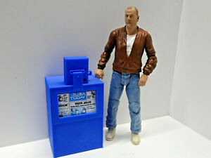 Newspaper-Box-Blue-1-10-scale-Action-Figure-Diorama-doll-house-Accessories