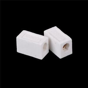 2Pcs High Temperature Ceramic Connector Block 30A 1 Way HV