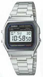 Orologio Casio modello acciaio A158wa-1df