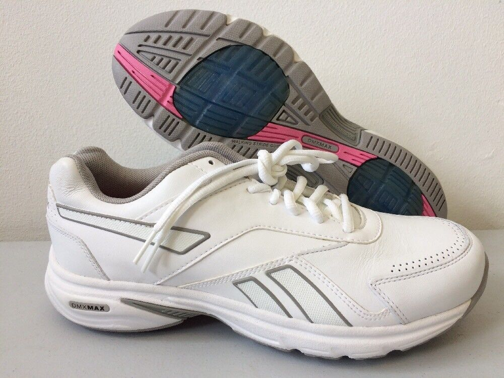 Reebok Lifewalk DMXMAX Womens Trainers Leather Toning shoes J21939 T84